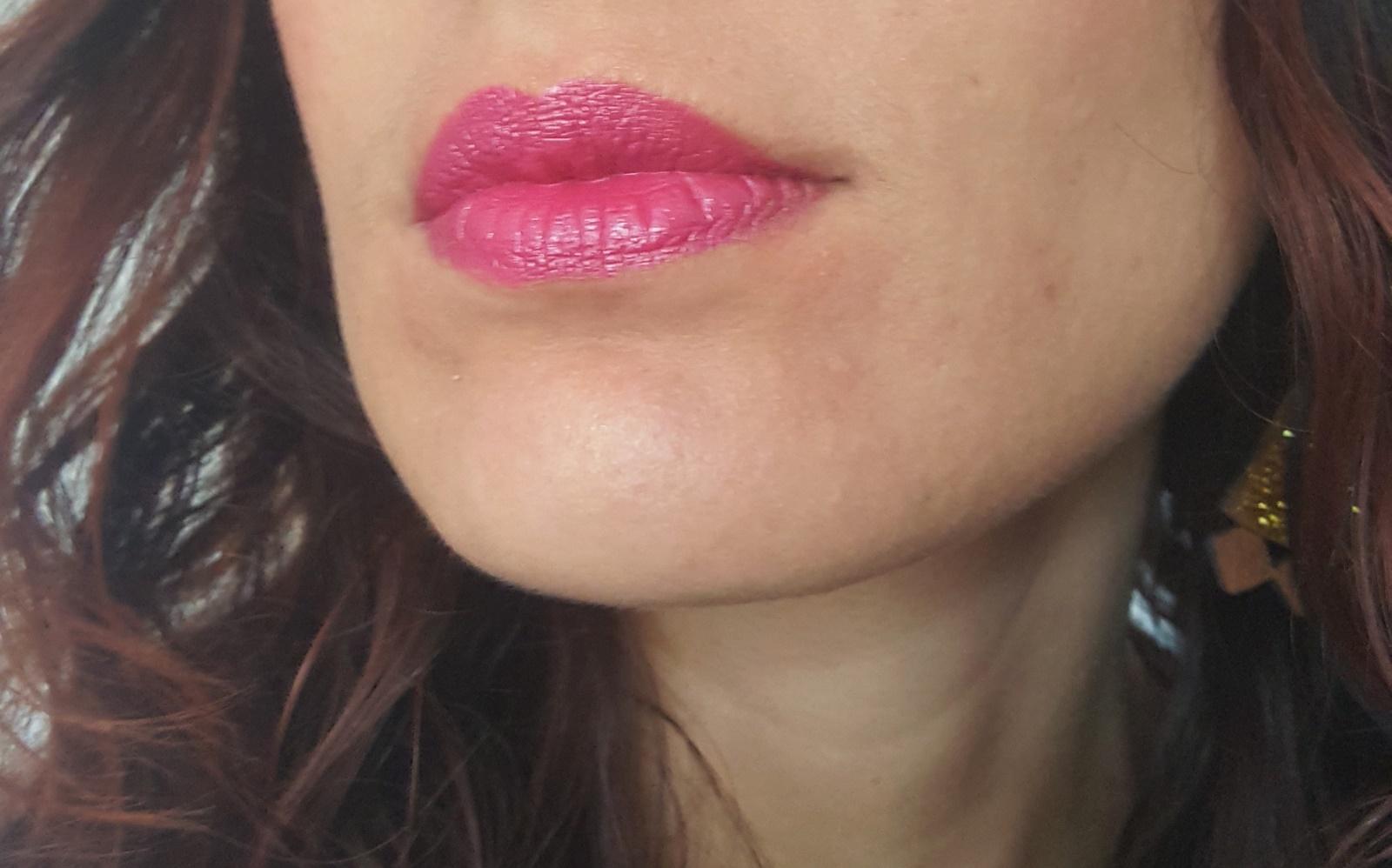 rouge à lèvres Lavera rose