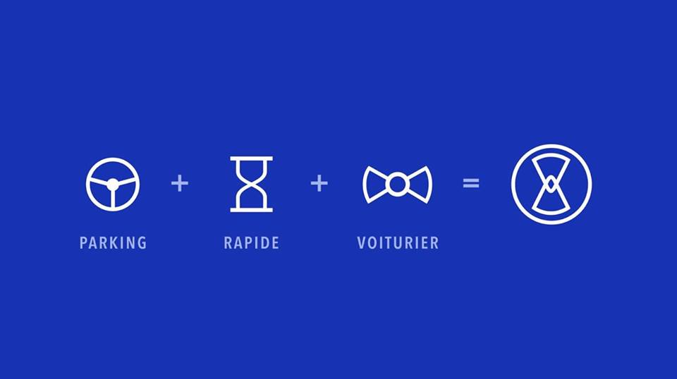 Blue Valet service parking voiturier