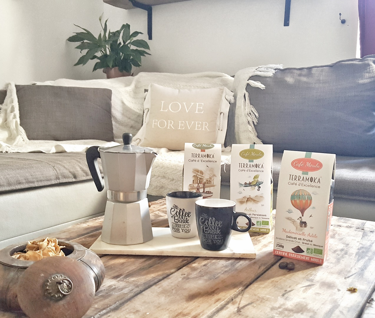 Terramoka cafés bio