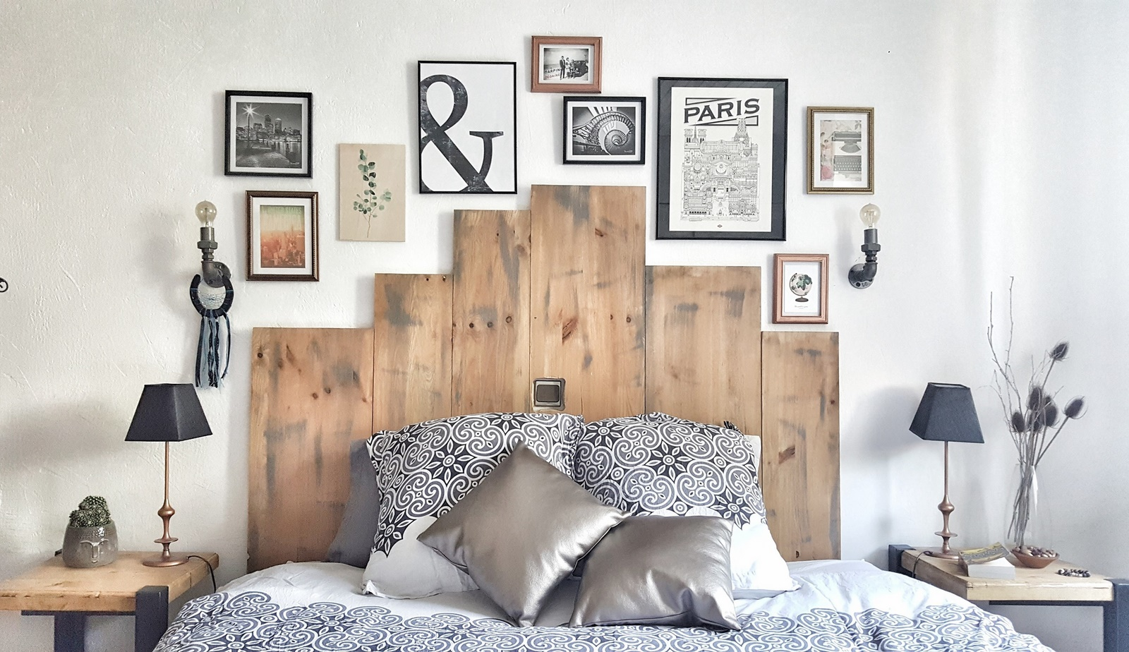 Mur De Cadres Ou Comment Habiller Un Mur Avec Style Jenychooz
