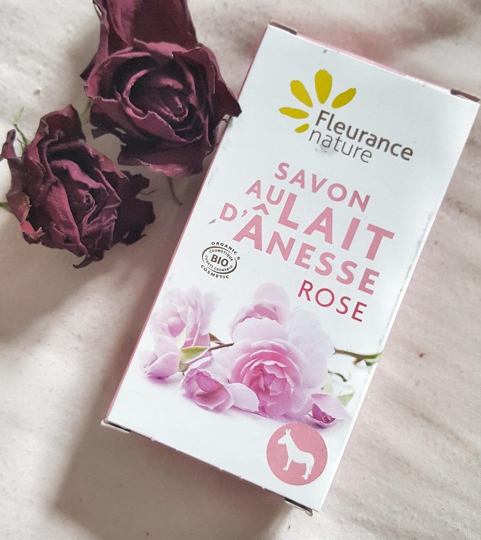 savon au lait d'ânesse Fleurance nature