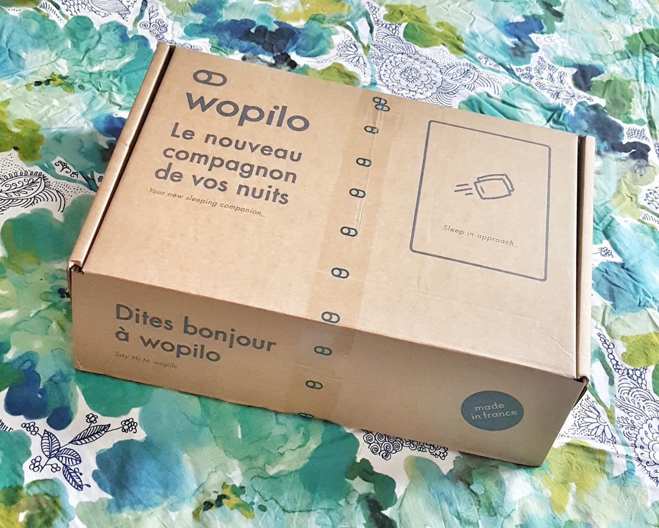 wopilo test oreiller méoire de forme
