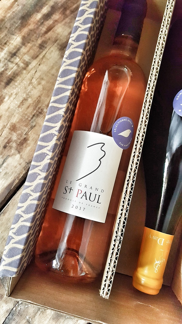 le grand saint paul var vin bio rosé