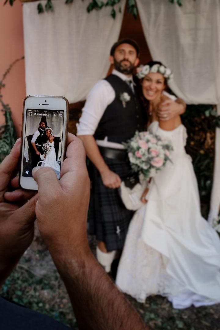 mariage celtique écossais