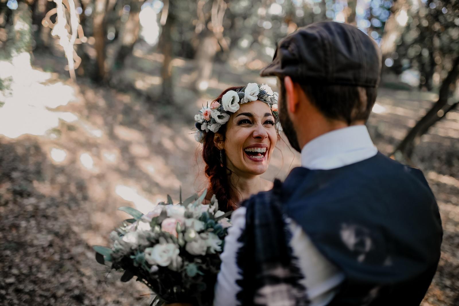 mariage zéro déchet camille et kévin paca