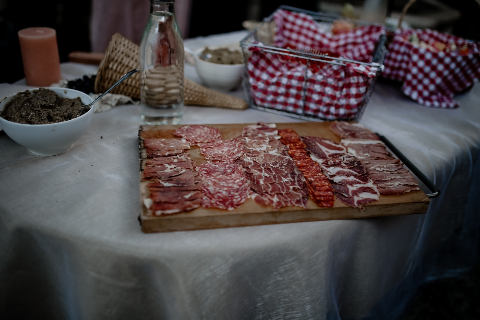 planche charcuterie mariage