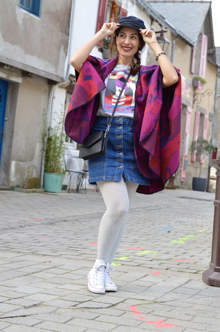 jenychooz blogueuse mode tendance poncho