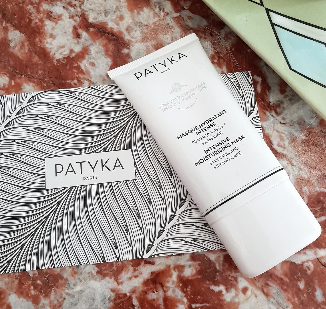 masque hydratant intense Patyka anti-âge