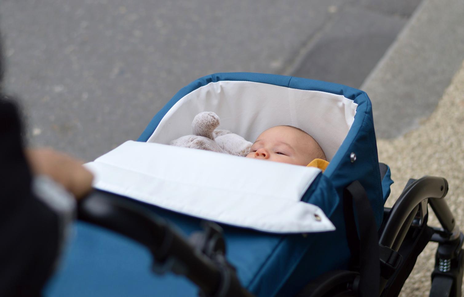 couffin bébé 3 mois poussette Limo Vidiamo