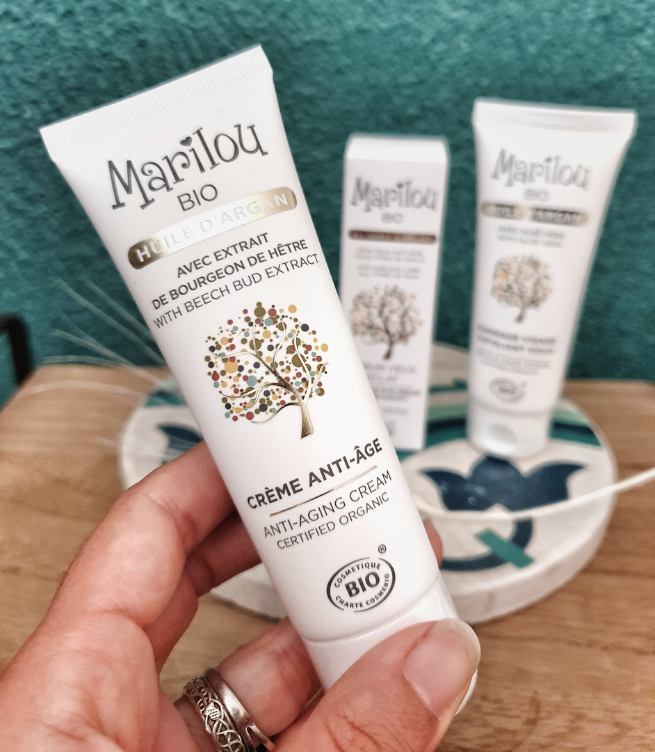 crème anti-âge à l'huile d'argan Marilou Bio
