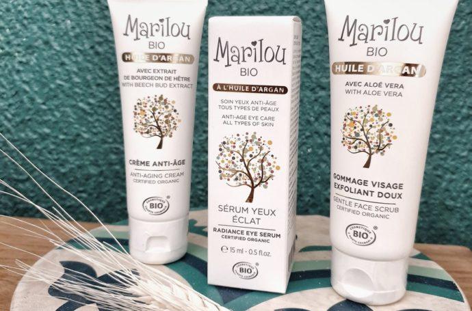 soins à l'huile d'argan Marilou Bio