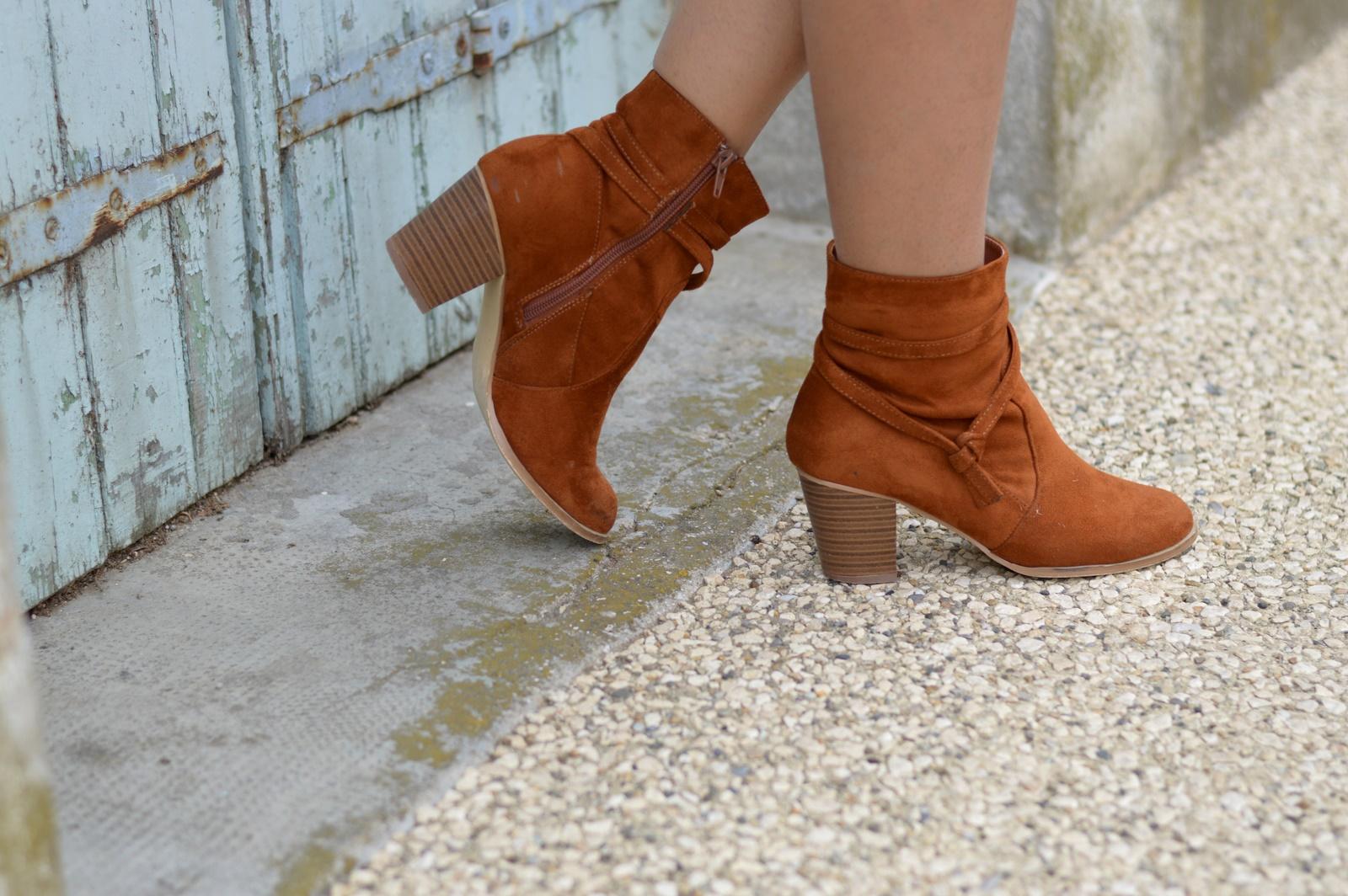 boots camel Blancheporte