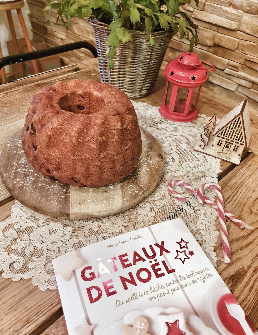 gâteau de Noël brioche