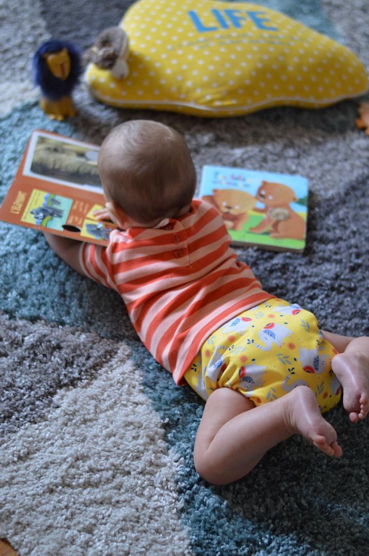 collaboration Bambino Mio collection safari