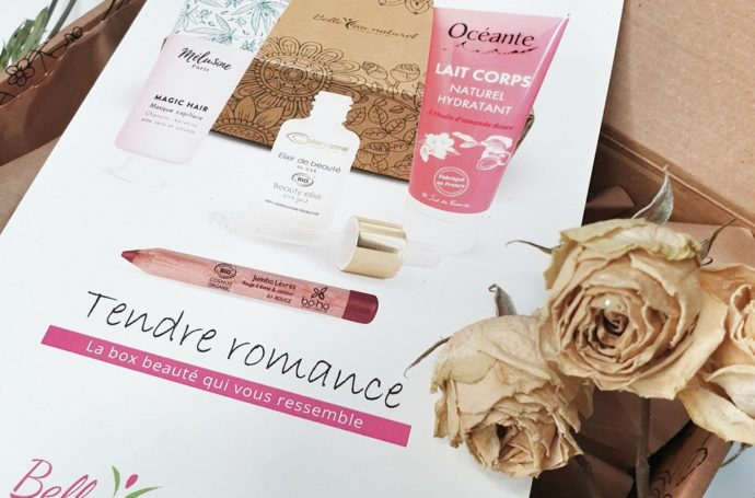 tendre romance box février belle au naturel contenu avis