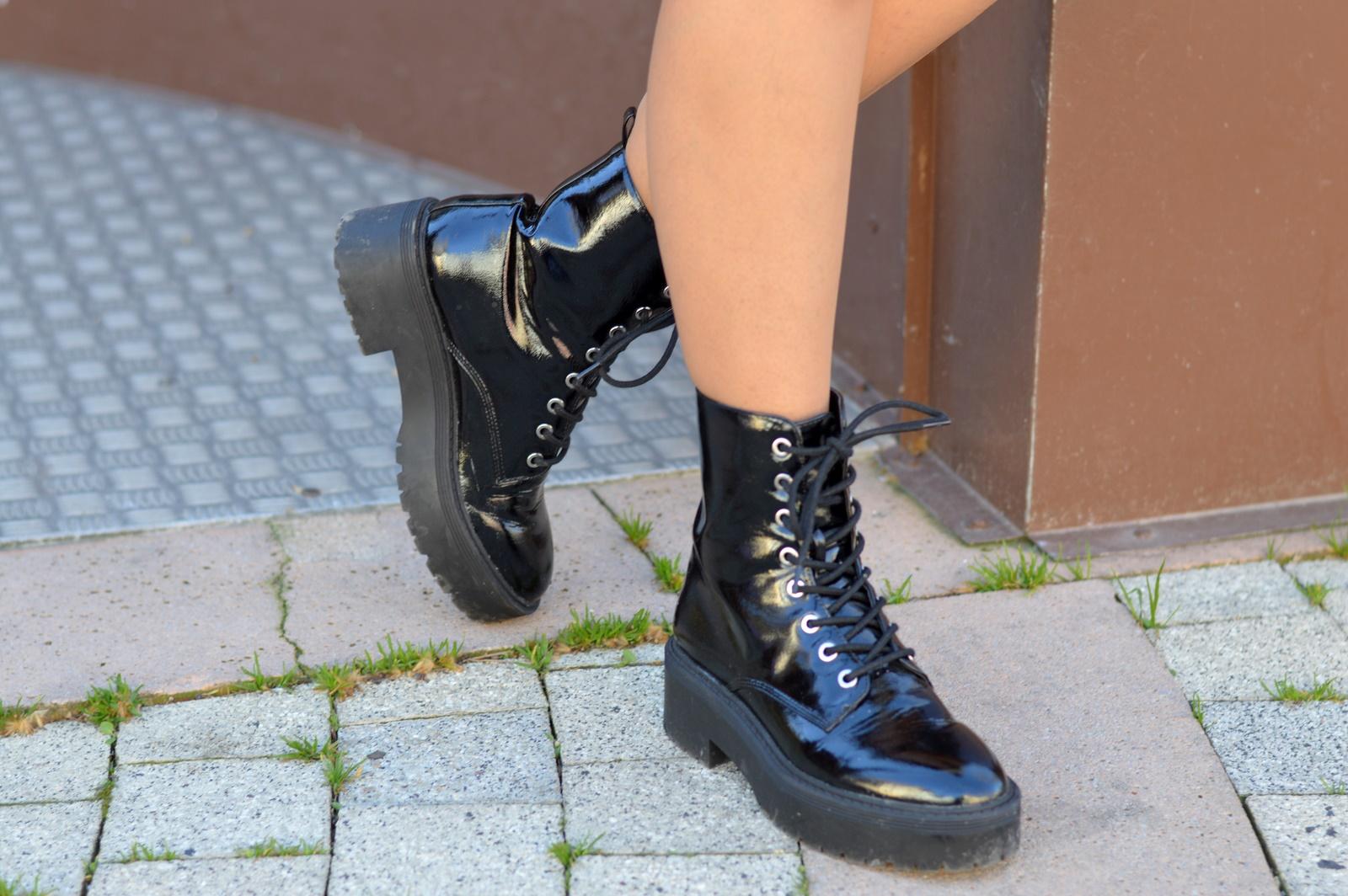 combat boots Pimkie