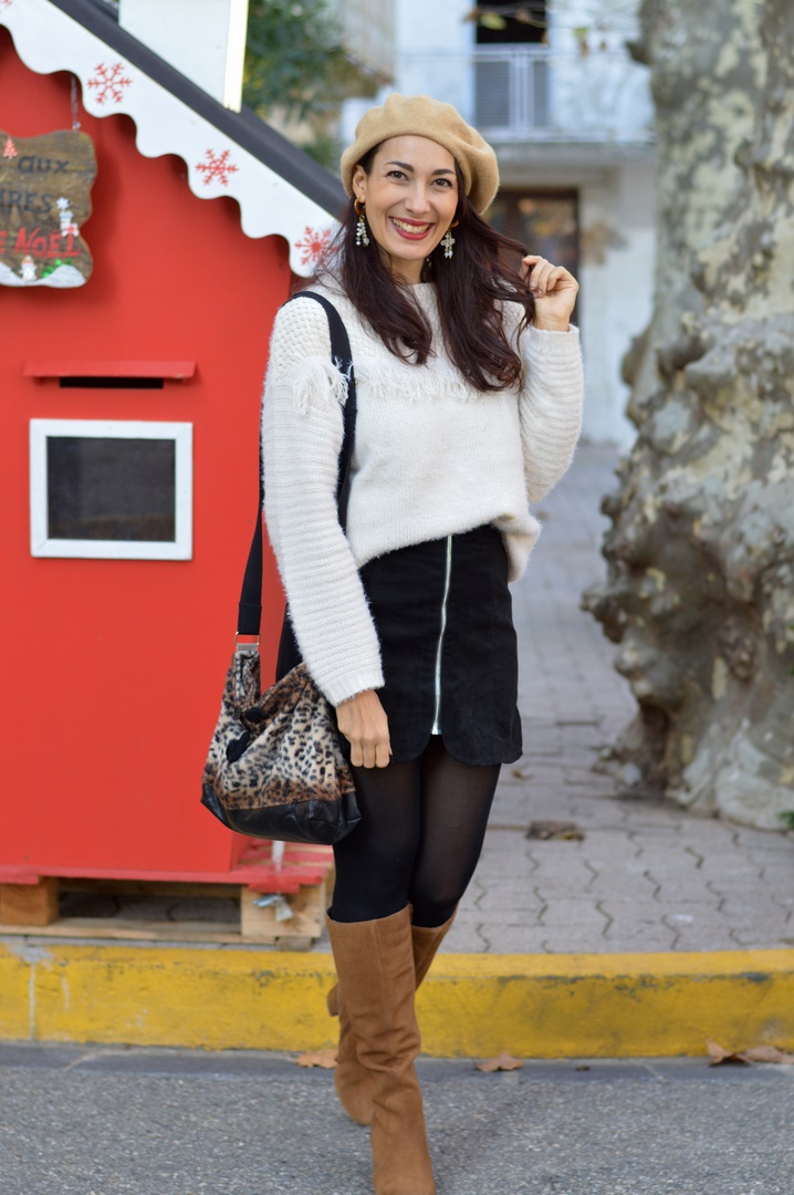 look casual féminin hiver bottes