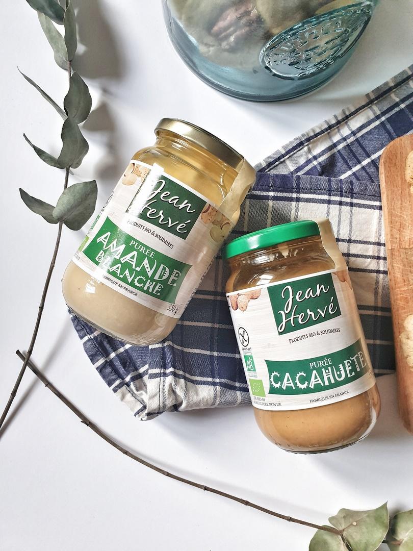 purée d'amande et de cacahuète Jean Hervé