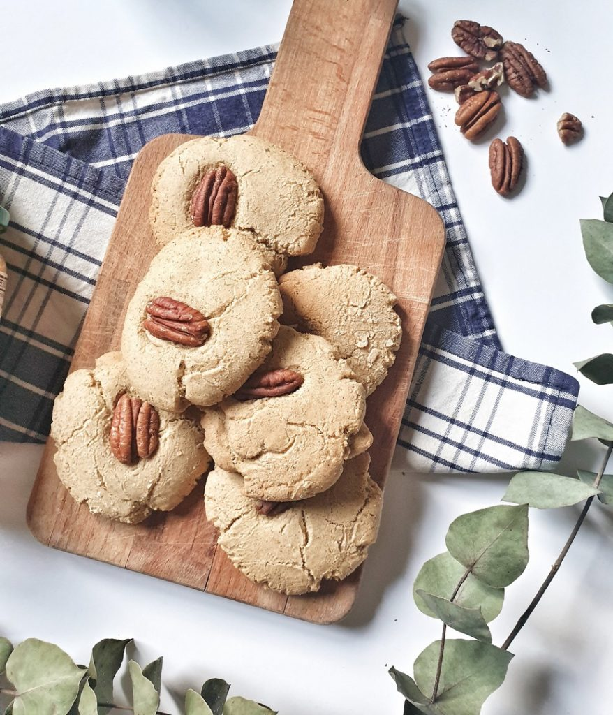 recette simple de cookies à la purée d'oléagineux