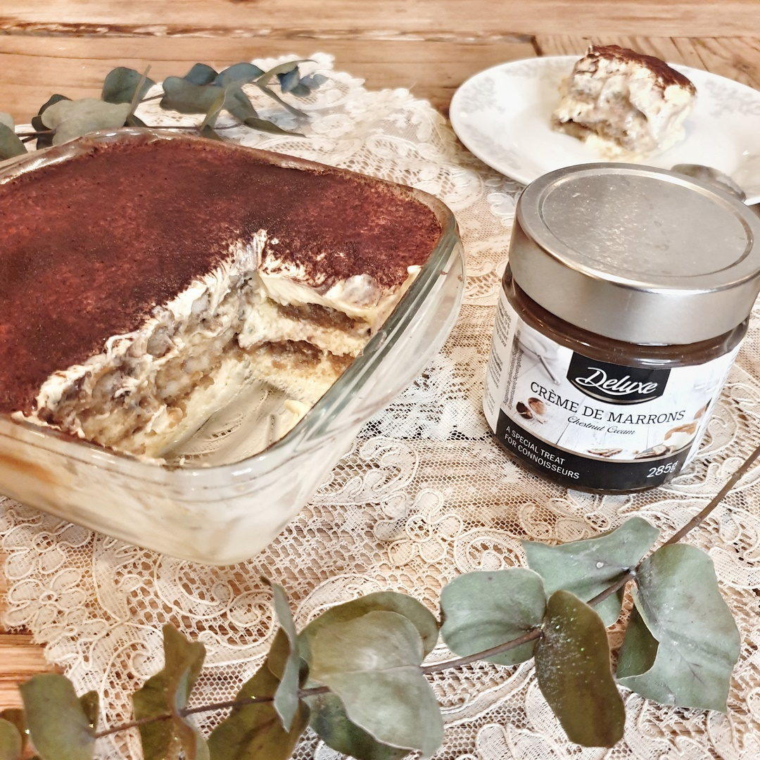 tiramisu très gourmand au café et crème de marrons